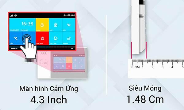 Màn Hình Cảm Ứng Bộ Báo Động WIFI/SIM SmartZ GW05