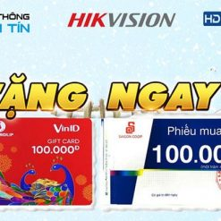 Đại Tiệc Khuyến Mãi SIÊU LỚN Mùa Noel 2019 Cùng Hikvision & Hdparagon