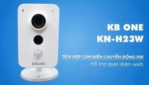 Review Camera IP Wifi KBONE KN-H23W 2.0MP