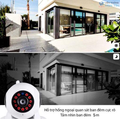 Camera IP WIFI Robot SmartZ F101 2.0MP Hồng Ngoại Rõ Nét