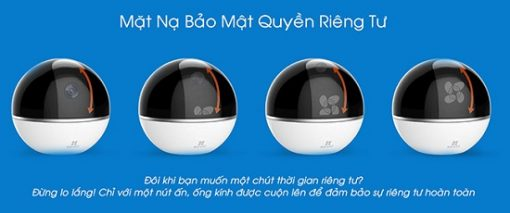Camera Wifi 360 Độ Ezviz CS-CV248 Bảo Mật Tối Đa