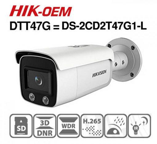 Camera IP Hikvision DS-2CD2T47G1-L công nghệ hiện đại