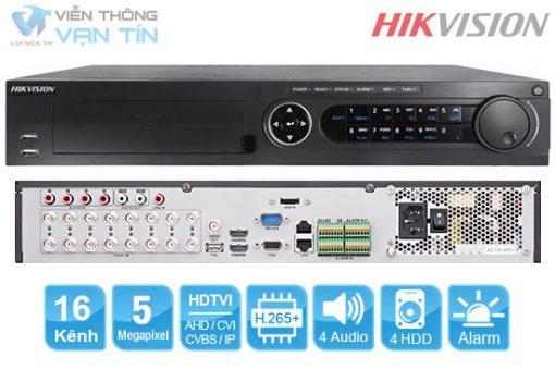 Chi tiết Đầu ghi hình 16 kênh 5mp hikvision DS-7316HUHI-K4