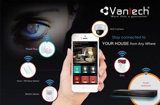 Camera IP Dome Vantech VP-2390DP Công Nghệ Hiện Đại