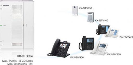 Kết Nối Tổng Đài Panasonic KX-HTS824