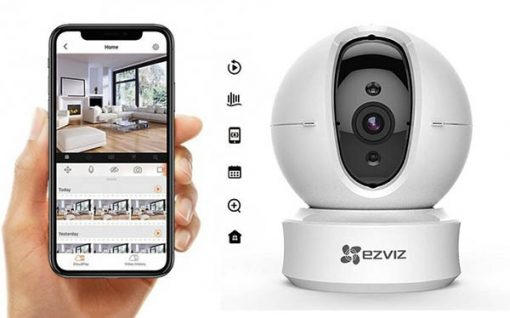 Xem camera wifi ezviz CS-CV246-B0-1C1WFR qua điện thoại