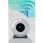icon camera wifi trong nhà