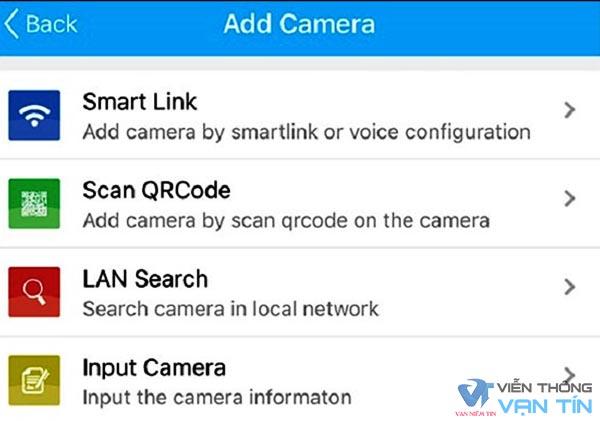 Hướng dẫn cài đặt camera wifi qua mạng