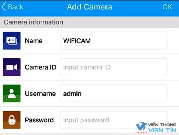 Hướng dẫn cài đặt camera wifi qua mạng đơn giản