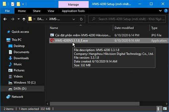 Hướng Dẫn Tải, Cài Đặt iVMS 4200 PC New Version