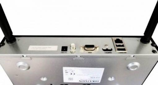 Chi tiết mặt sau Đầu Ghi IP Hikvision DS-7104NI-K1/W/M
