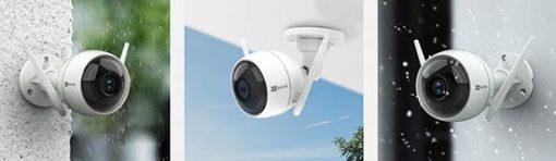Camera Wifi EZVIZ C3WN 1080P Chuẩn IP66 Chống Nước Chống Bụi