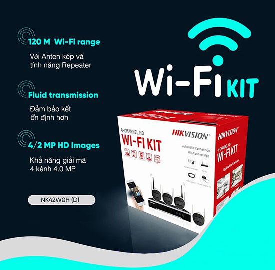 Thông Tin Bộ Kit Camera IP Wifi Hikvision NK42W0H(D)